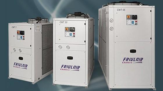 Refrigeratori d'acqua chillers Friulair